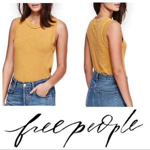Free People We the Free Go To Tank Marigold S